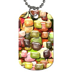 Stones 001 Dog Tag (two Sides) by ImpressiveMoments