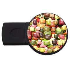 Stones 001 Usb Flash Drive Round (2 Gb)