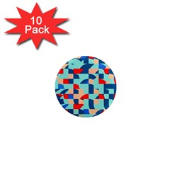 Miscellaneous Shapes 1  Mini Magnet (10 Pack)  by LalyLauraFLM