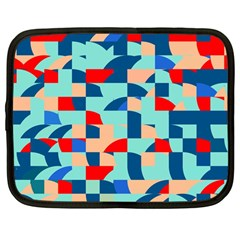 Miscellaneous Shapes Netbook Case (large)	 by LalyLauraFLM