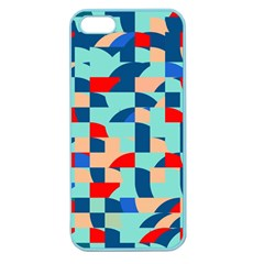 Miscellaneous Shapes Apple Seamless Iphone 5 Case (color) by LalyLauraFLM