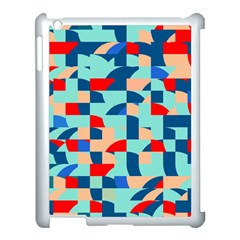 Miscellaneous Shapes Apple Ipad 3/4 Case (white) by LalyLauraFLM