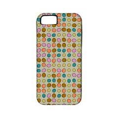 Retro Dots Pattern Apple Iphone 5 Classic Hardshell Case (pc+silicone) by LalyLauraFLM