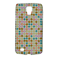 Retro Dots Pattern Samsung Galaxy S4 Active (i9295) Hardshell Case by LalyLauraFLM