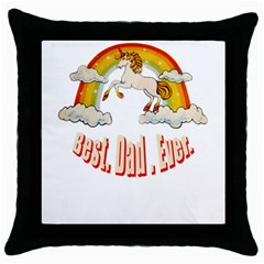 Best  Dad  Ever  Throw Pillow Cases (black) by redcow