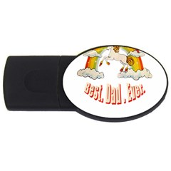 Best  Dad  Ever  Usb Flash Drive Oval (2 Gb)  by redcow