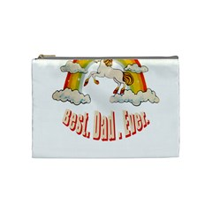 Best  Dad  Ever Cosmetic Bag (medium)