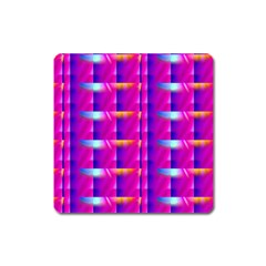 Pink Cell Mate Square Magnet by TheWowFactor