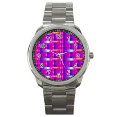 Pink Cell Mate Sport Metal Watches by TheWowFactor