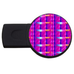 Pink Cell Mate Usb Flash Drive Round (4 Gb)  by TheWowFactor