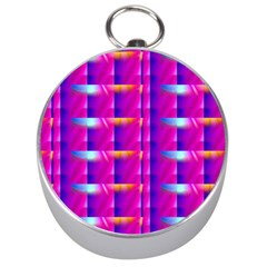 Pink Cell Mate Silver Compasses by TheWowFactor
