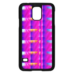 Pink Cell Mate Samsung Galaxy S5 Case (black) by TheWowFactor