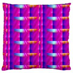 Pink Cell Mate Large Flano Cushion Cases (two Sides)  by TheWowFactor