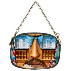 Graffiti Sunglass Art Chain Purses (one Side)  by TheWowFactor