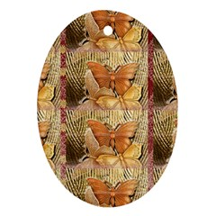 Butterflies Ornament (oval)  by TheWowFactor
