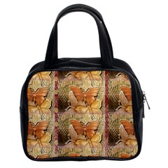 Butterflies Classic Handbags (2 Sides) by TheWowFactor