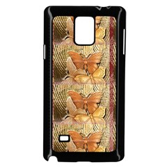 Butterflies Samsung Galaxy Note 4 Case (black) by TheWowFactor