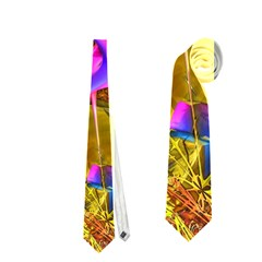 Biology 101 Abstract Neckties (two Side)  by TheWowFactor
