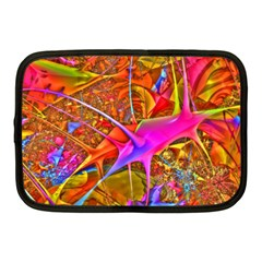 Biology 101 Abstract Netbook Case (medium)  by TheWowFactor