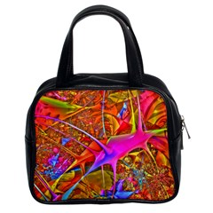 Biology 101 Abstract Classic Handbags (2 Sides) by TheWowFactor