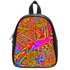 Biology 101 Abstract School Bags (small)  by TheWowFactor