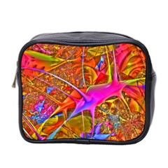 Biology 101 Abstract Mini Toiletries Bag 2 Side by TheWowFactor