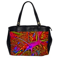 Biology 101 Abstract Office Handbags by TheWowFactor
