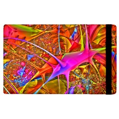 Biology 101 Abstract Apple Ipad 2 Flip Case by TheWowFactor