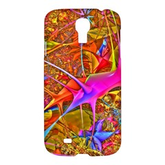 Biology 101 Abstract Samsung Galaxy S4 I9500/i9505 Hardshell Case by TheWowFactor