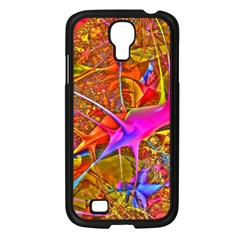 Biology 101 Abstract Samsung Galaxy S4 I9500/ I9505 Case (black) by TheWowFactor