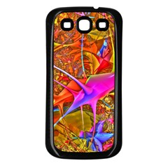 Biology 101 Abstract Samsung Galaxy S3 Back Case (black) by TheWowFactor