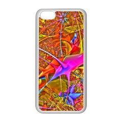 Biology 101 Abstract Apple Iphone 5c Seamless Case (white)