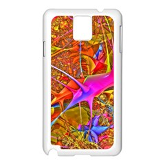 Biology 101 Abstract Samsung Galaxy Note 3 N9005 Case (white) by TheWowFactor