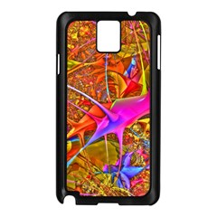 Biology 101 Abstract Samsung Galaxy Note 3 N9005 Case (black) by TheWowFactor