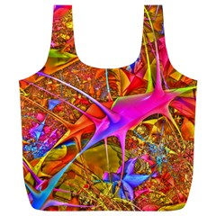 Biology 101 Abstract Full Print Recycle Bags (l)  by TheWowFactor