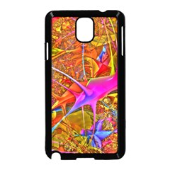 Biology 101 Abstract Samsung Galaxy Note 3 Neo Hardshell Case (black) by TheWowFactor