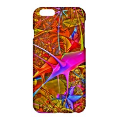 Biology 101 Abstract Apple Iphone 6 Plus Hardshell Case by TheWowFactor