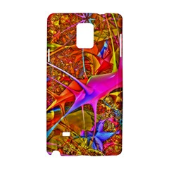 Biology 101 Abstract Samsung Galaxy Note 4 Hardshell Case by TheWowFactor