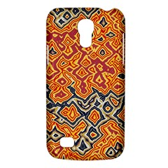 Red Blue Yellow Chaos Samsung Galaxy S4 Mini (gt I9190) Hardshell Case  by LalyLauraFLM