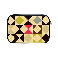 Rhombus And Triangles Pattern Apple Ipad Mini Zipper Case by LalyLauraFLM