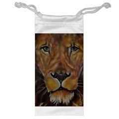 Cecil The African Lion Jewelry Bags by timelessartoncanvas