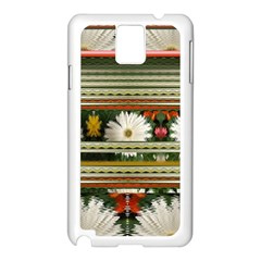 Pattern Flower  Samsung Galaxy Note 3 N9005 Case (white) by infloence