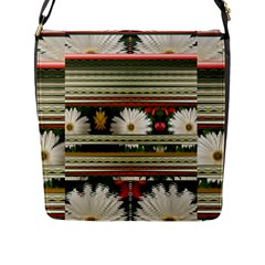 Pattern Flower Phone Cases Flap Messenger Bag (l)  by infloence