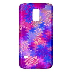 Pink And Purple Marble Waves Galaxy S5 Mini by KirstenStar