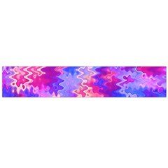 Pink And Purple Marble Waves Flano Scarf (large)  by KirstenStarFashion