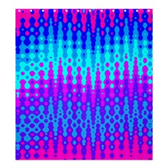 Melting Blues And Pinks Shower Curtain 66  X 72  (large)  by KirstenStar