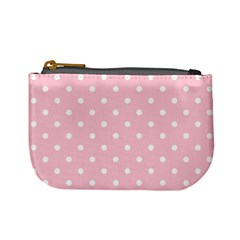 Pink Polka Dots Mini Coin Purses by LokisStuffnMore
