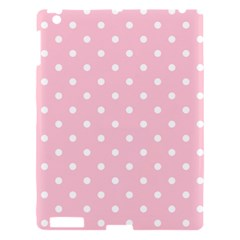 Pink Polka Dots Apple Ipad 3/4 Hardshell Case by LokisStuffnMore