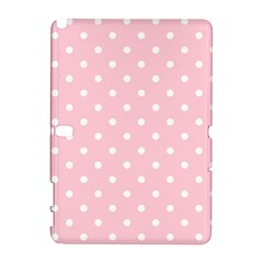 Pink Polka Dots Samsung Galaxy Note 10 1 (p600) Hardshell Case by LokisStuffnMore
