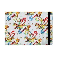 Colorful Paint Strokes Apple Ipad Mini Flip Case by LalyLauraFLM
